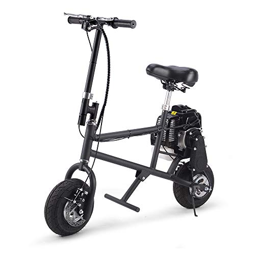 SAY YEAH Gas Bike 50cc 2-Stroke Petrol Motorized Mini Scooter, Adult Super Folding Bicycle, Gas Powered Kids Mini Dirt Bike Motocross Bike, EPA Approved
