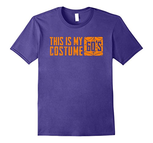 [Mens This Is my 60's Costume T-Shirt 1960s Halloween Men Women Medium Purple] (60s Fashion Mens)