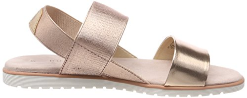 Bugatti Women's 411478805900 Ankle Strap Sandals, Silver Pink (Rose 3400)