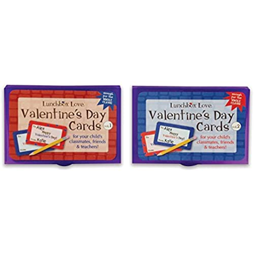Lunchbox Love for Valentines Day with Animal Facts--30 unique cards--enough for all the students in your class! Sales