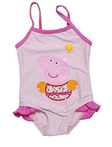 Costume da Bagno Intero Bambina Peppa Pig rosa TAGLIA 3-4 ANNI