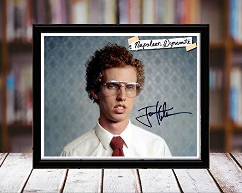 Jon Heder Autograph Replica Print - Napoleon Dynomite - 8x10 Desktop Framed Print - Landscape