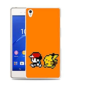 Case88 Designs Pokemon Pokemon gameplay gameboy Protective Snap-on Hard Back Case Cover for Sony Xperia Z3