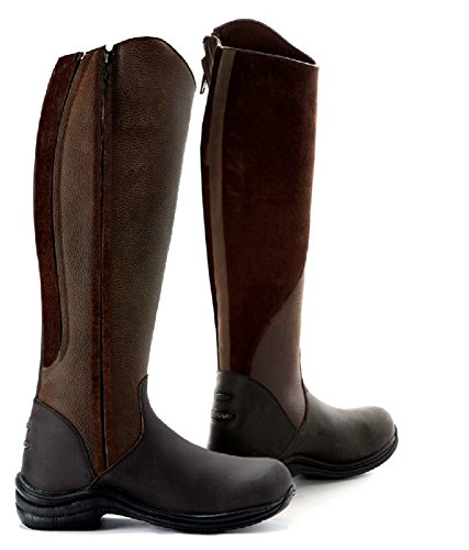 Toggi Quartz Long Riding Boots Bitter Chocolate oB8py54