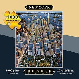 Dowdle New York 1000 Piece Puzzle by Dowdle Folk Art