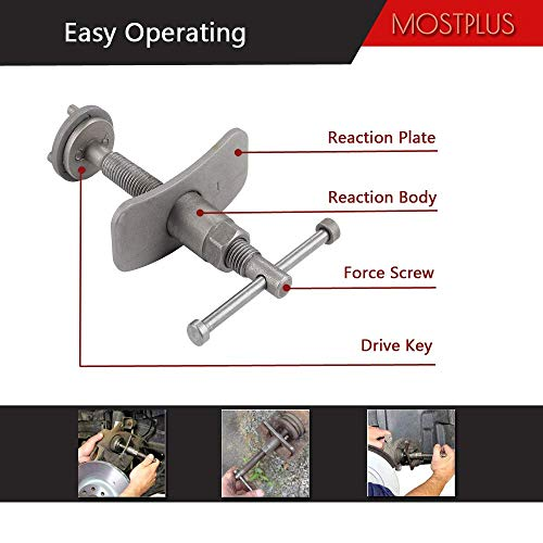 MOSTPLUS Universal Disc Brake Caliper Wind Back Tool and Piston Compression Sets-22 Pieces by MOSTPLUS (Image #3)
