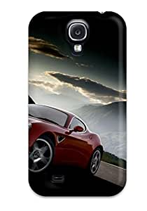 Forever Collectibles Alfa Romeo 8c Wallpaper Hard Snap-on Galaxy S4 Case