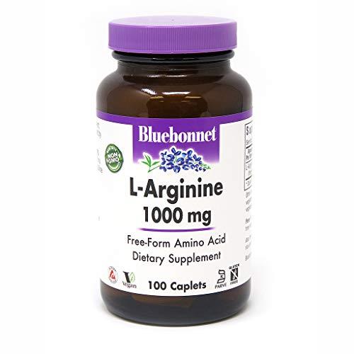 (Bluebonnet L-Arginine 1000 Mg Vitamin Capsules, 100Count)