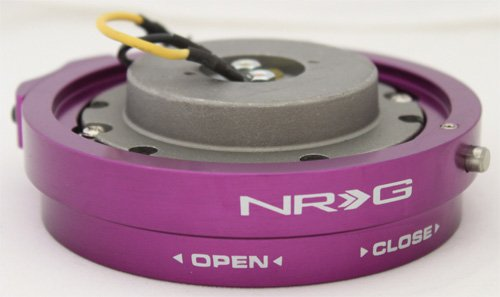 NRG Innovations SRK-400PP Purple Thin Quick Release