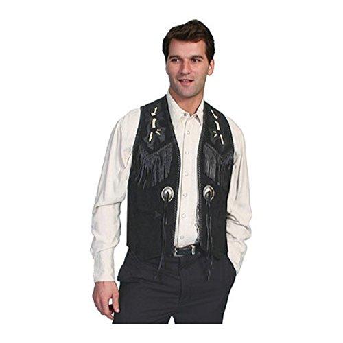 [スカーリー] メンズ ベスト Handlaced Bead Trim Vest 755 [並行輸入品] B07DHMT4ZF 50