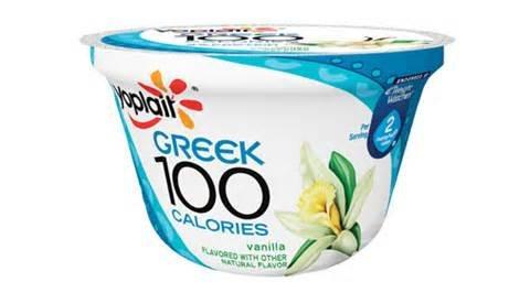 YOPLAIT YOGURT GREEK 100 CALORIES VANILLA 5.3 OZ PACK OF 7