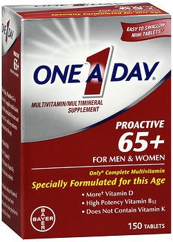 One-A-Day Proactive 65+ Tablets – 150 ct, Pack of 2 For Sale