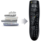 replaces many remotes