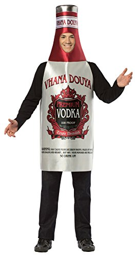 Rasta Imposta Vodka Bottle Outfit Funny Comical Theme Party Halloween Fancy Costume, OS ()