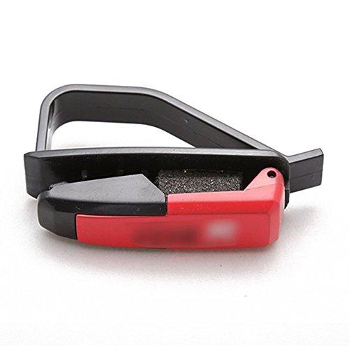 TOOGOO(R)Car Glasses Sunglasses Business Bank Card Ticket Holder - Sunglasses Edgars