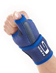 NEO G Thumb Brace - Medical Grade Quality with flexible splint, HELPS strains, sprains, pain, instability, aching, weak, arthritic wrists & thumbs, everyday support & warmth – ONE SIZE Unisex Support