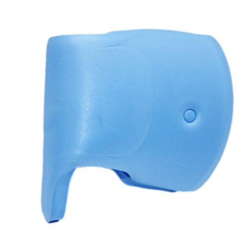 OVERMAL Bath Spout Cover Tub Faucet Cover for Baby Care Bath Spout Tap Tub Safety Water Faucet Cover Protector Guard (Blue Bath Spout Cover)
