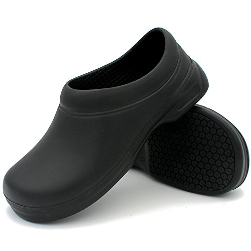 Resistant Black Oil Slip CAKI Shoes Resistant Non Mules Clogs Working WAKO Waterproof Slip Men's Slippers 1 gFFOx76