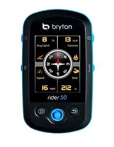 Bryton Rider 50 - Navegador GPS (con HRM y cadencia)