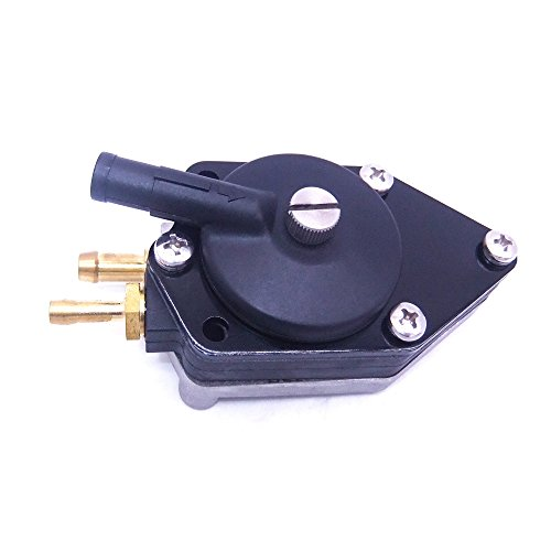 SouthMarine 0438555 438555 0433386 433386 Fuel Pump for Johnson Evinrude OMC BRP 20-30hp Boat Motor Small Nipple