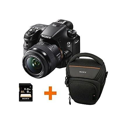 Sony Alpha SLT-A58 18 – 55/3.5 – 5.6 DT Sam (SAL-1855) cámaras ...
