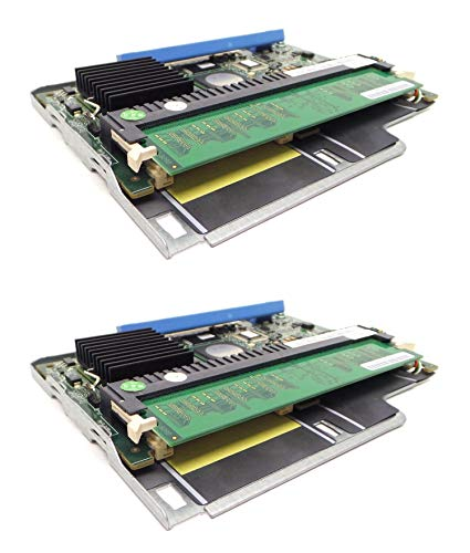 Memory Raid 256mb (2-LOT Genuine WX072 NP007 Dell PowerEdge 1950 2950 PERC 5i SAS RAID Controller with 256MB Memory Compatible Part Numbers: WX072, NP007 (Renewed))