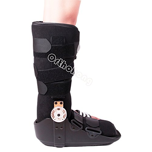 Pneumatic ROM Walker Fracture Walker Boot Medical Walking Boots Achilles Tendon Surgery Acute Ankle Injuries Sprains Inflatable Supports (Medium) by Orthokong (Image #4)