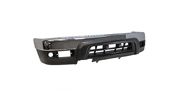 FOR 1999-2002 SILVERADO 2500HD 3500 FRONT BUMPER UPPER CAP PAD TRIM FILLER 3PCS