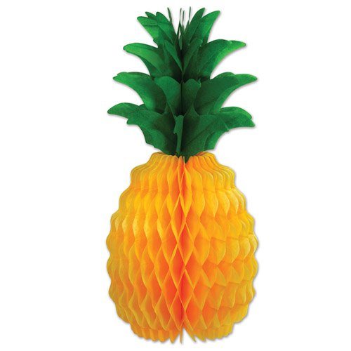 (Pkgd Tissue Pineapple Party Accessory (1 count) (1/Pkg))
