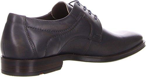 Lloyd 24-597-23 Glasgow - Zapatos de cordones de Piel para hombre Gris acero Gris - gris oscuro