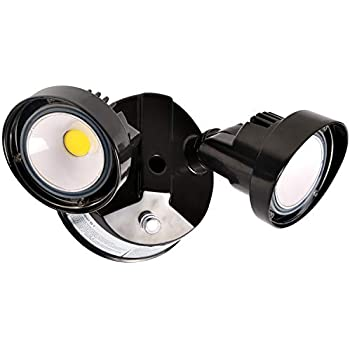 Hykolity 20W Dusk to Dawn LED Security Light, Outdoor Wall Mount Floodlight [150W Equivalent] 2200lm 5000K IP65 Waterproof, Adjustable Dual Head, ETL Listed & DLC Complied - - Amazon.com