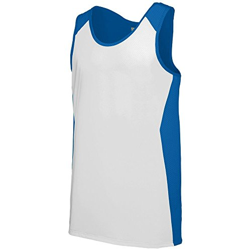 - Augusta Sportswear MEN'S ALIZE JERSEY M Royal/White