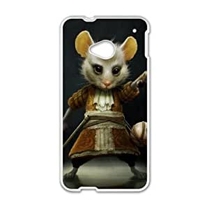 HTC One M7 Phone Ceses white Alice in Wonderland The Dormouse XF5893678