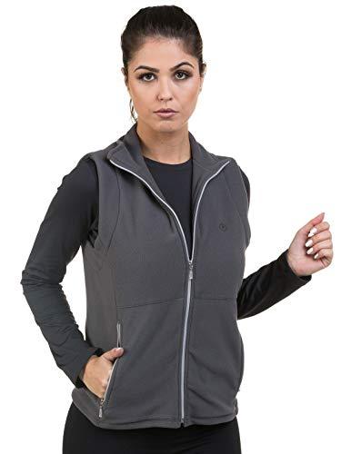 Colete Fleece Feminino Thermo Soft Com Proteção Solar Extreme Uv