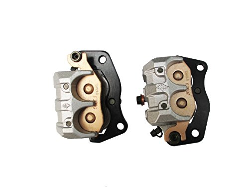 E-accexpert Left & Right Front Brake Caliper Replacement For YAMAHA RHINO 700 YXR 700 2008-2013 by WADS1000284 (Image #4)