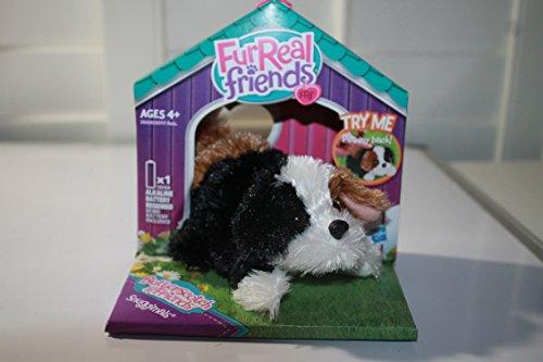 FUR REAL FRIENDS SNUGGIMALS SUNG-A-BARKY (Tiger Real)