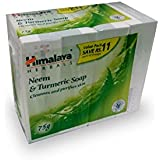 Himalaya Neem and Turmeric Soap, 75gm (Pack of 4 - Save Rupees 11)