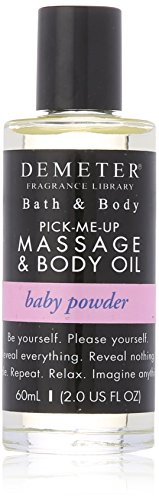 Demeter Baby Powder - Demeter Massage and Body Oil for Unisex, Ba Powder, 2 Ounce