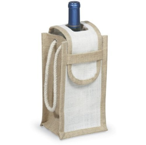 (Epic 43-712 Natural with Single Neck Flap - Bottle Carrier Cord Handles Design)