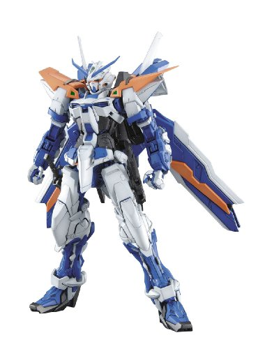 Bandai Hobby MG Gundam Second Revise Model Kit (1/100 Scale), Astray Blue Frame