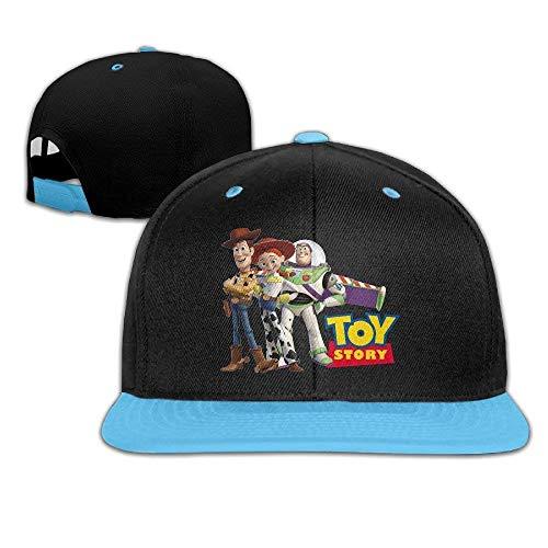 GlyndaHoa Toy Story Characters Boy Girl Children Hiphop Cap Cotton -