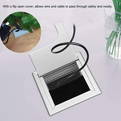 Tapa Pasacables de la mesa del escritorio de la computadora, Cable ...