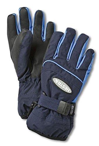 Hestra Gloves 32880 Jr. Primaloft, Dark Navy/Skyblue - 6