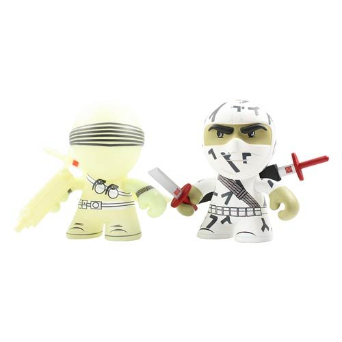G.I. Snake Eyes and Storm Shadow 3-Inch Mini-Figure 2-Pack ()