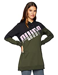 PUMA Womens A.C.E. Blocked Hoody Hoodies & Sweatshirts