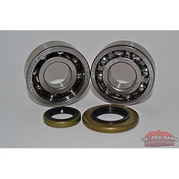 Crankshaft Crank Grooved Ball Piston Bearing For Stihl 066 065 MS660 MS650 New