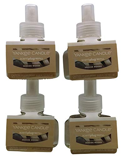 Yankee Candle Seaside Woods ScentPlug Refill 4-Pack