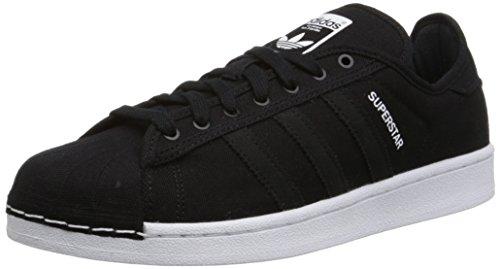 adidas Originals Men's Superstar Festival Pack Lifestyle Basketball-Style Sneaker, Core Black/Core Black/White, 7.5 M US