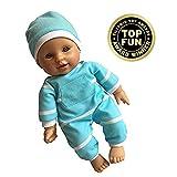 11 inch Soft Body Doll in Gift Box - Award Winner & Toy 11' Baby Doll (Hispanic)