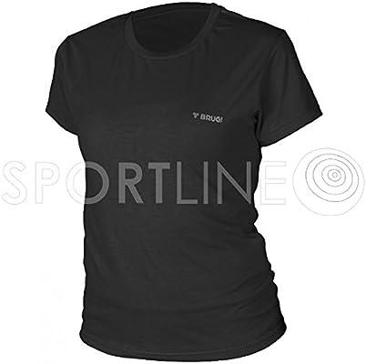 Brugi Camiseta de Mujer Camiseta Deportiva de Entrenamiento para Mujer Cómodo para Correr para Mujer Blusas, Negro: Amazon.es: Deportes y aire libre